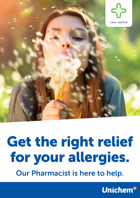 Get the right relief for your allergies Spring 2018 1