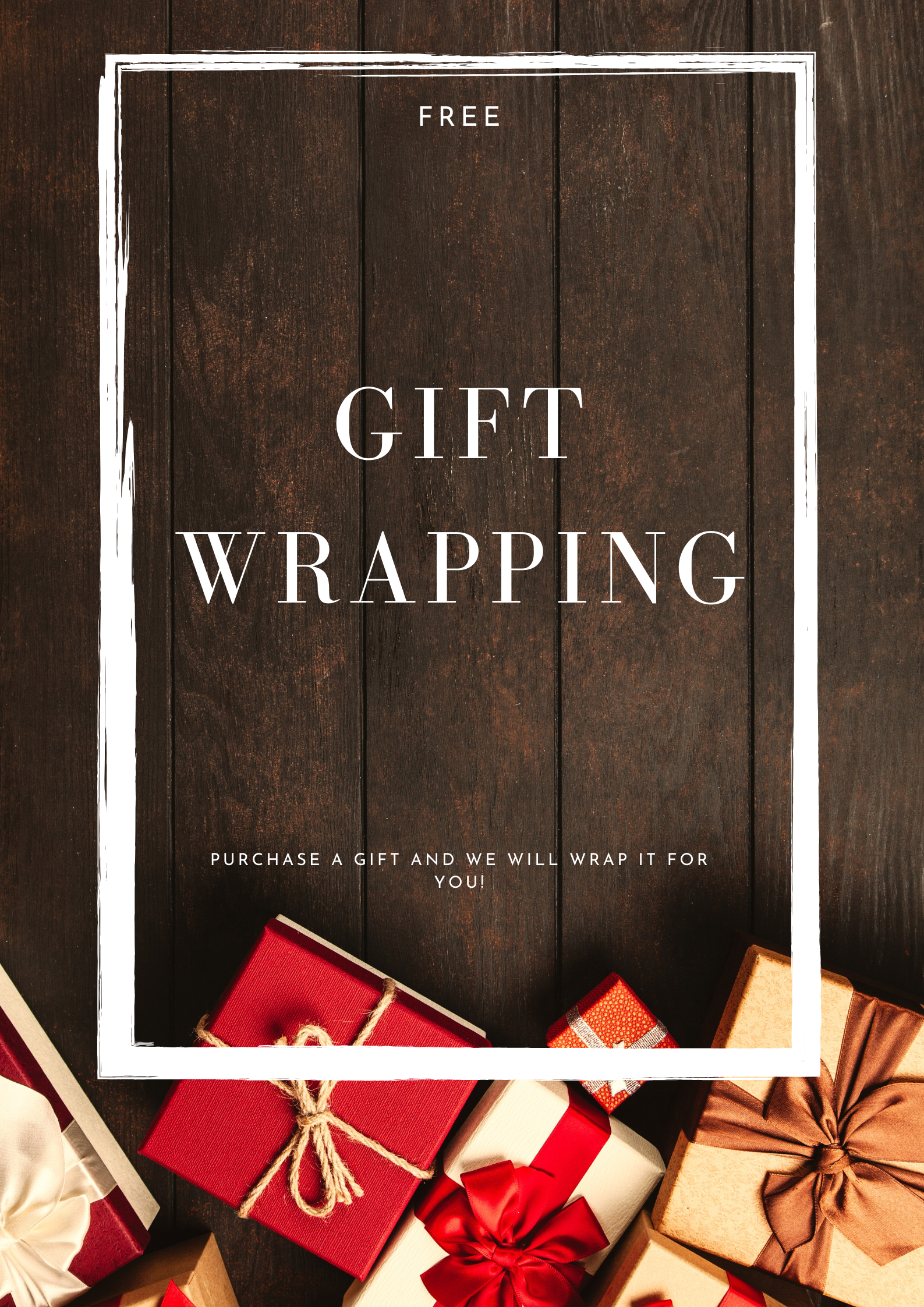 gift wrapping pos